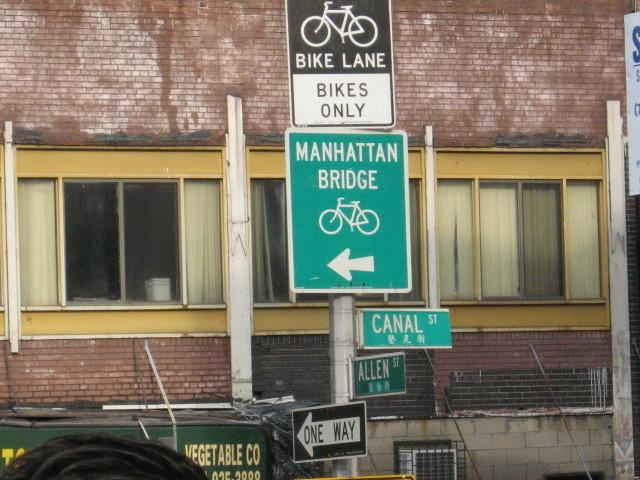 fietsen in New York City