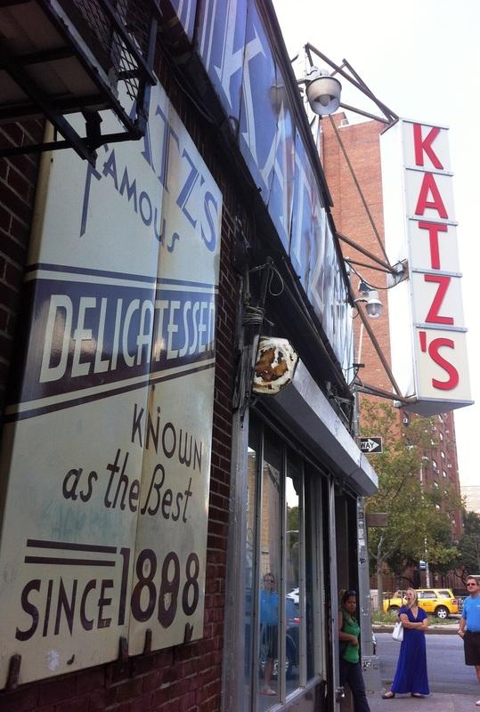Katz's deli New York City