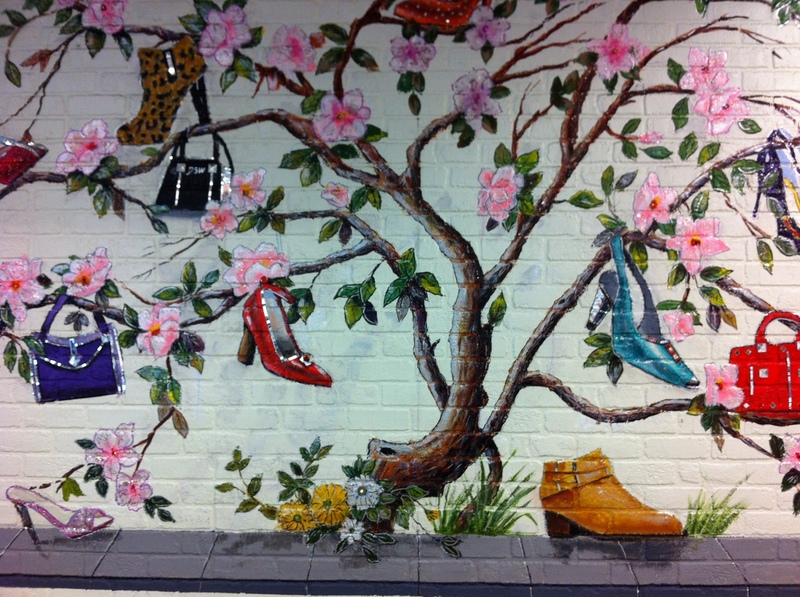 Designer Shoe Warehouse in New York City