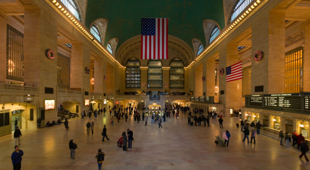 10 highlights in New York City like the Grand Central Station