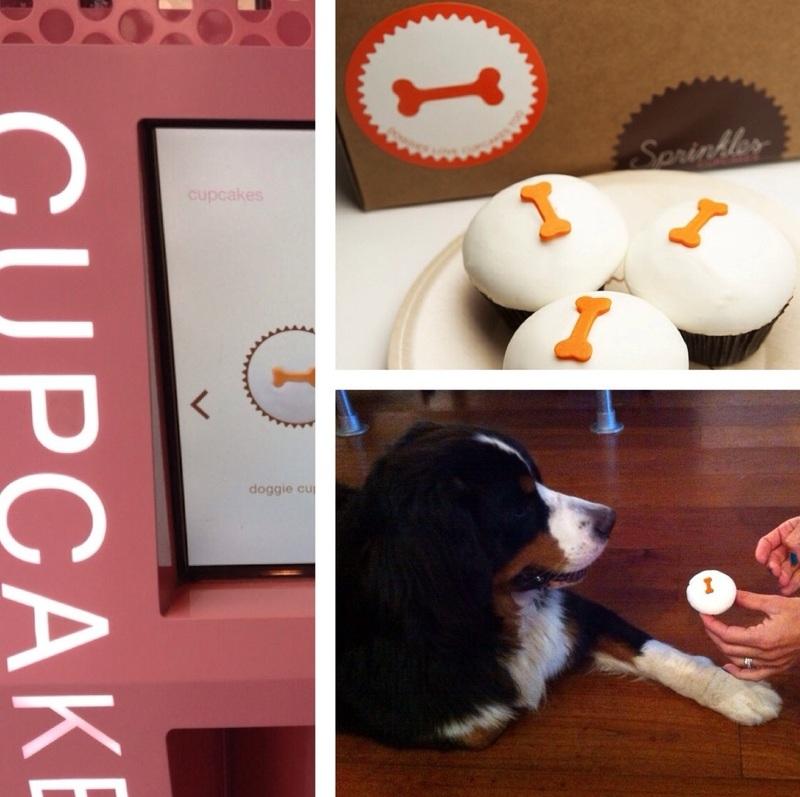 cupcakes voor honden uit de cupcake ATM in New York City