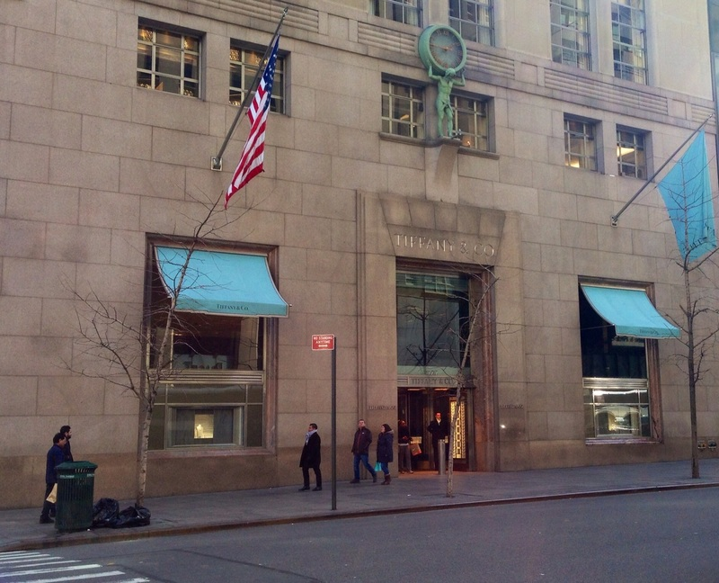Tiffany's in New York City
