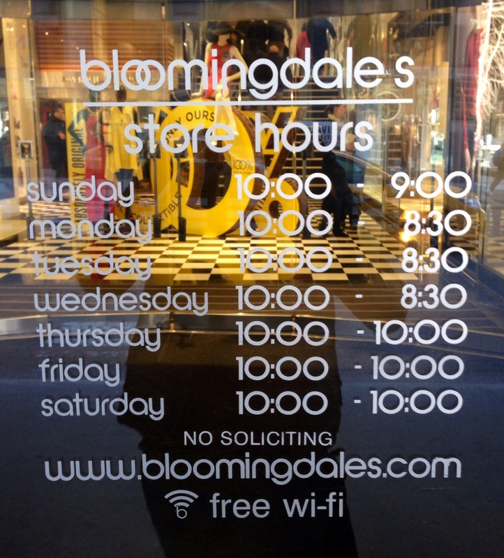 Bloomingdale's New York City