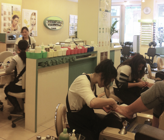 Manicure in New York City