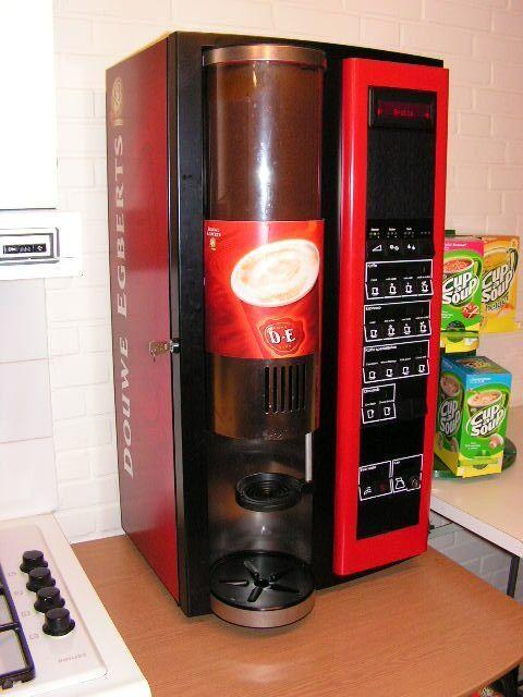 Onderhouden koffie machines