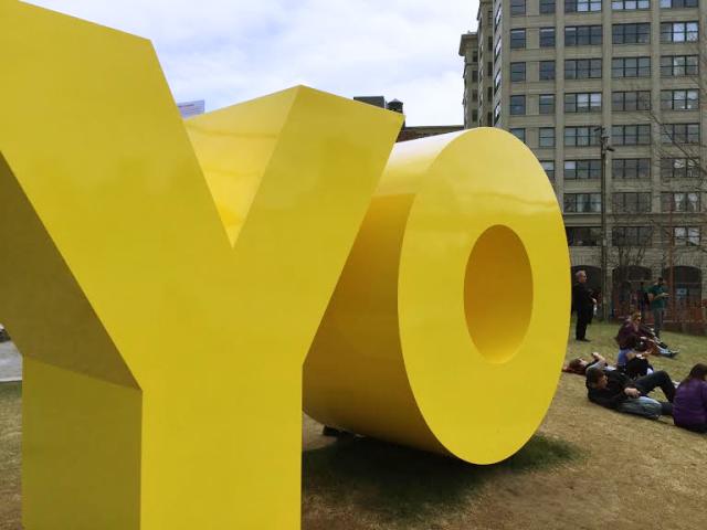 YO/OY - street art in NY