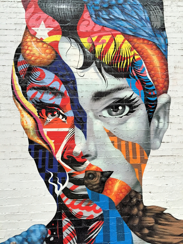 Newyorkcitytrippers - #AudreyHepburn #TristanEaton #LISAproject #BroomeStreet #MulberryStreet #CaffeRoma