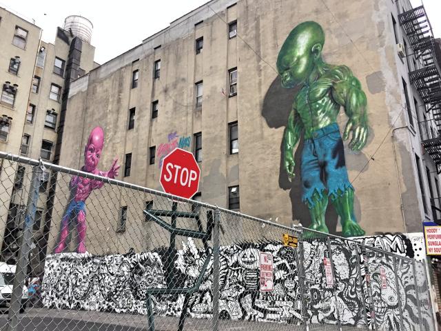 Newyorkcitytrippers - #TemperTot #RonEnglish #TheincredulousHulkboy #MulberryStreet