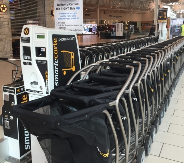 Shopping Carts At The Mills At Jersey Gardens Oulet Mall