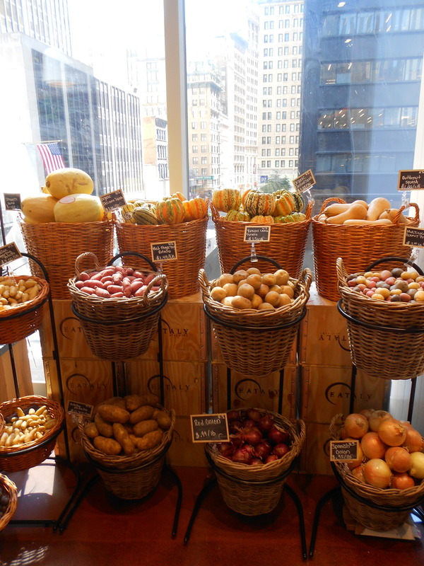Eataly downtown New York City