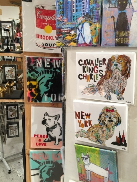 Newyorkcitytrippers at The Market NYC with Pinky Pilots art