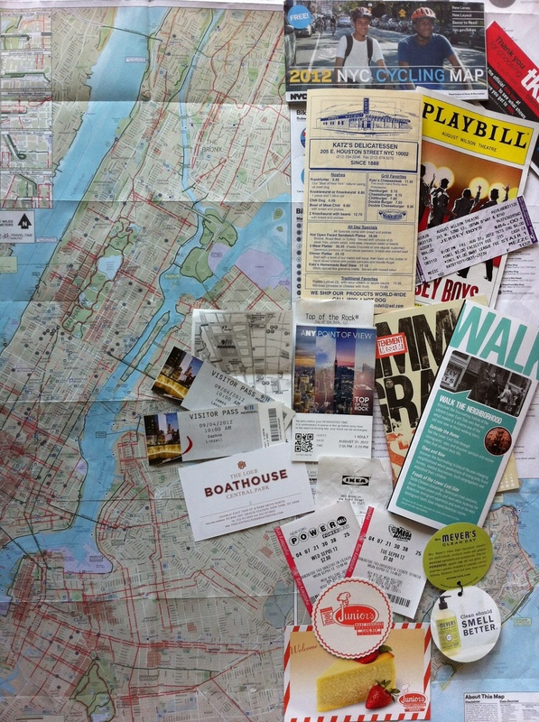 tailored travel advice, city trip, new york city trip