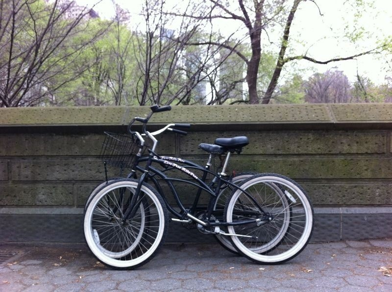 fietsen in Central Park New York City