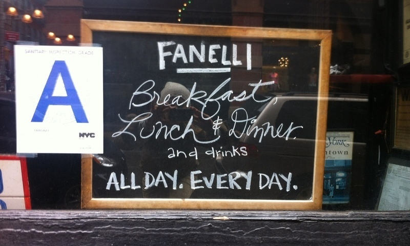Fanelli\s New York City