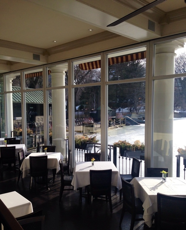 Let's have brunch at The Loeb Boathouse