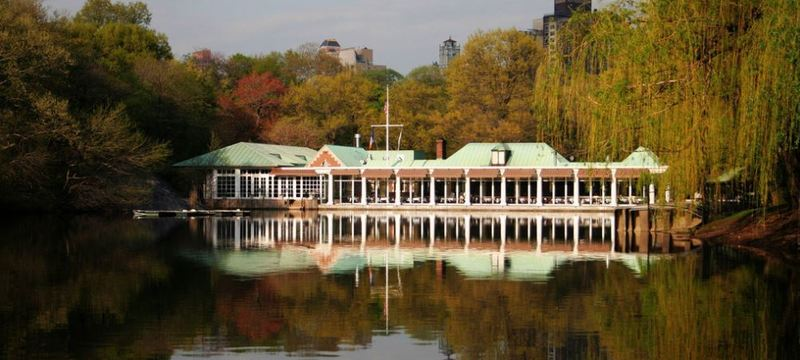 The Loeb Boathouse in Central Park New York City