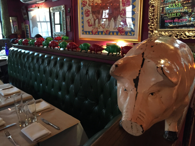 leuk restaurant in New York, The Spotted Pig