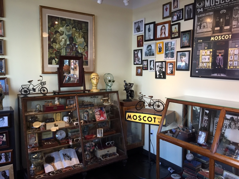 Inside Moscot