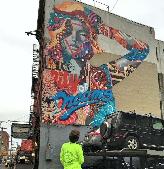 Superbly Streetart run Lower East Side LM86