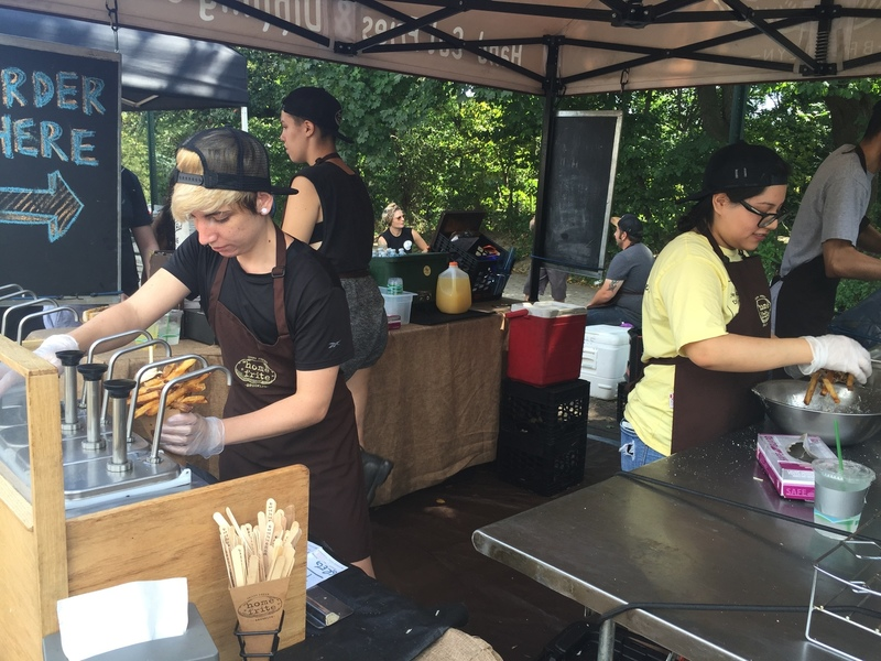 Newyorkcitytrippers at Home frite Smorgasburg Prospect Park Brooklyn