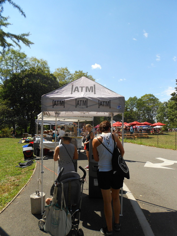 Newyorkcitytrippers at Smorgasburg Prospect Park Brooklyn ATM