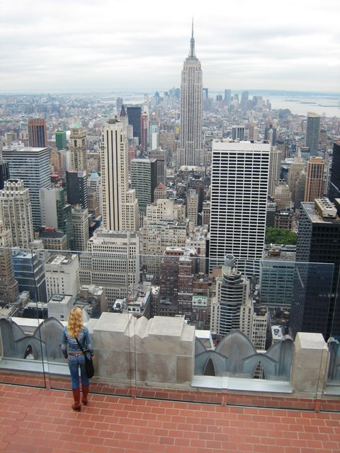 Top Of The Rock Observationdeck