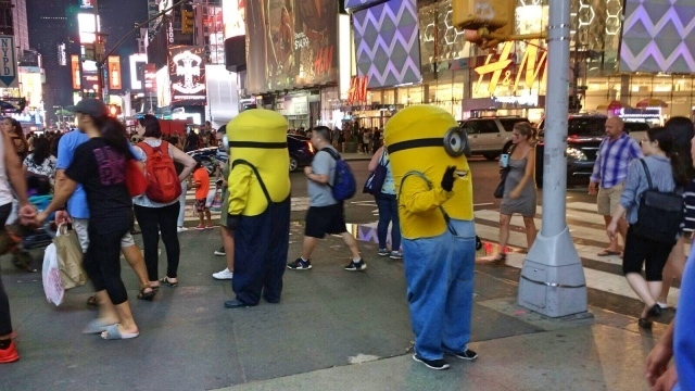 Minions at Times Square 10 highlights in NYC