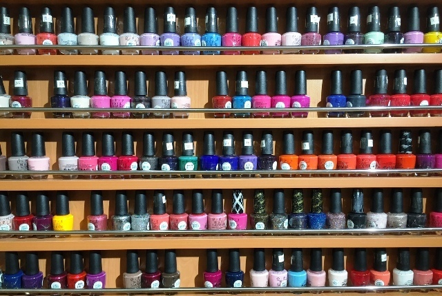 Newyorkcitytrippers nailpolish at the Orchard Street Nail and Spa