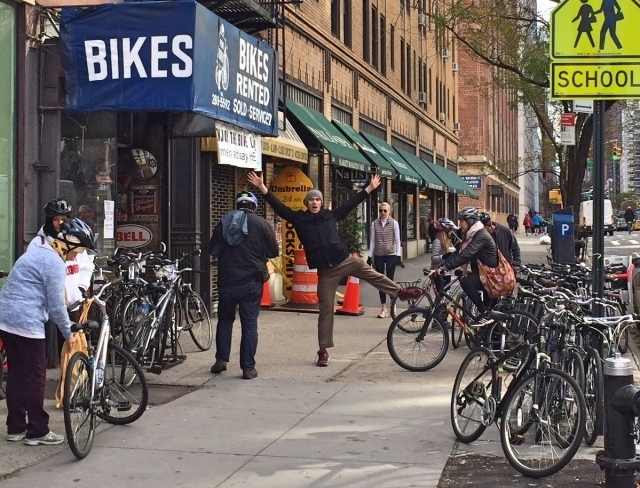 Fietsen door Harlem met Bike the Big Apple
