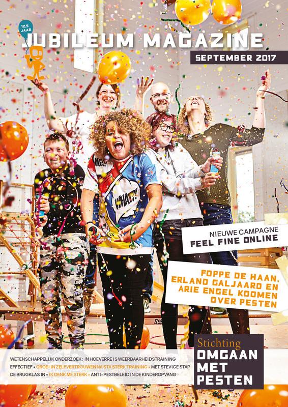 Jubileum Magazine Stichting Omgaan met Pesten 2017-2018