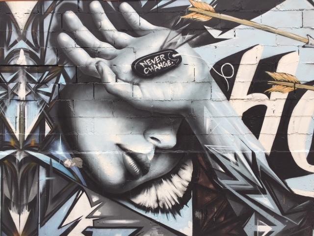 Bushwick Streetart - Prachtige mural op Moore Street