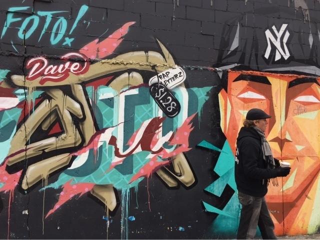 Bushwick street art - White Street