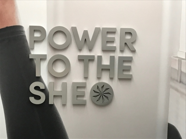 Power to the she at Athleta Fifth Avenue