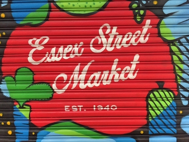 Essex Street Market around the corner of the Holiday Inn LES