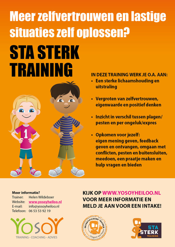 Flyer Sta Sterk training YosoY